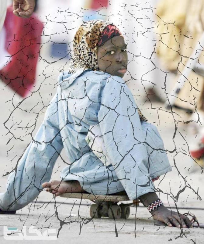 مخاطر كبيرة خلال أزمة كورونا من انتشار المتسولين فترة رفع المنع.(تصوير: عمرو سلام)