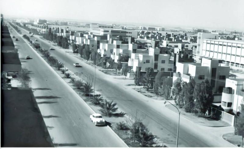 حي الملز الذي بنته شركة كمال أدهم في الرياض في الخمسينات.