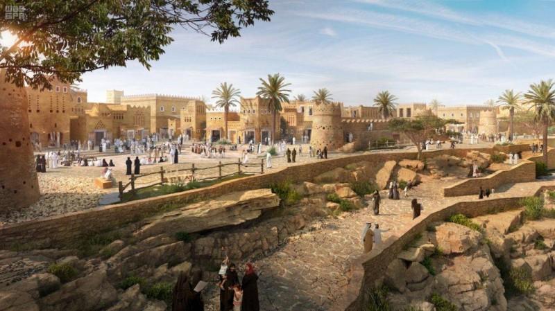 بدء تنفيذ المرحلة الأولى من أكبر مشروع تراثي وثقافي في العالم لتطوير «الدرعية التاريخية»
