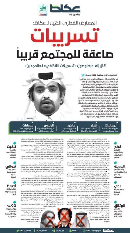 المعارض القطري خالد الهيل