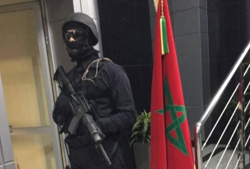 القوات المغربية.