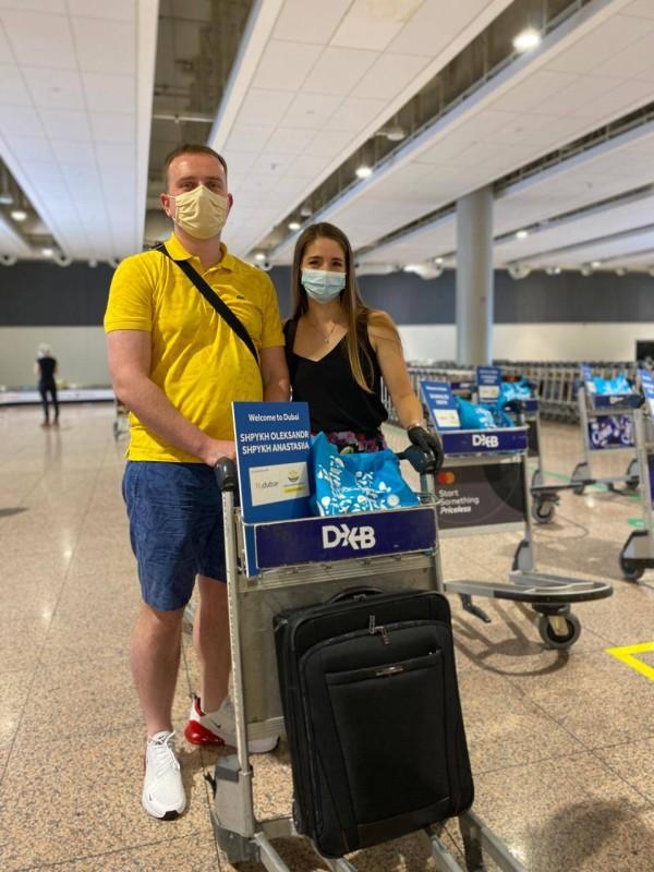 «فلاي دبي» ترحب بأوائل السياح القادمين إلى دبي