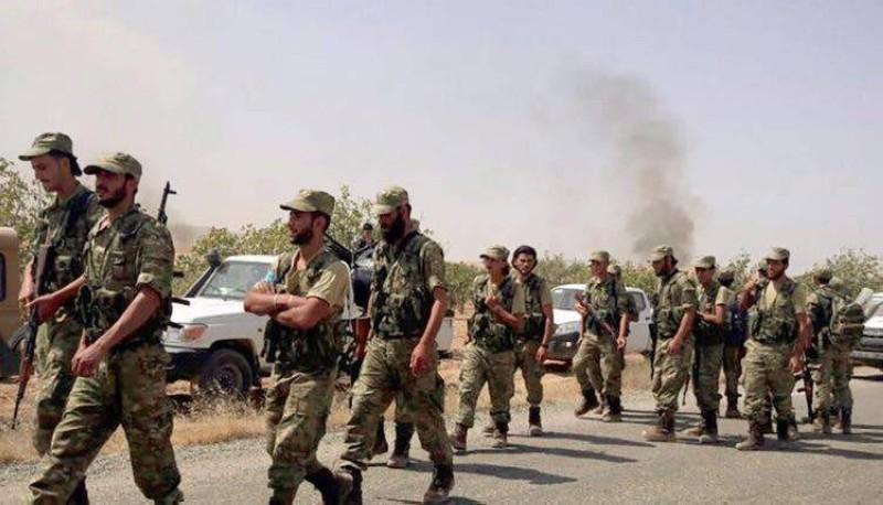 مرتزقة سوريون يحاربون مع مليشيا الوفاق في طرابلس.