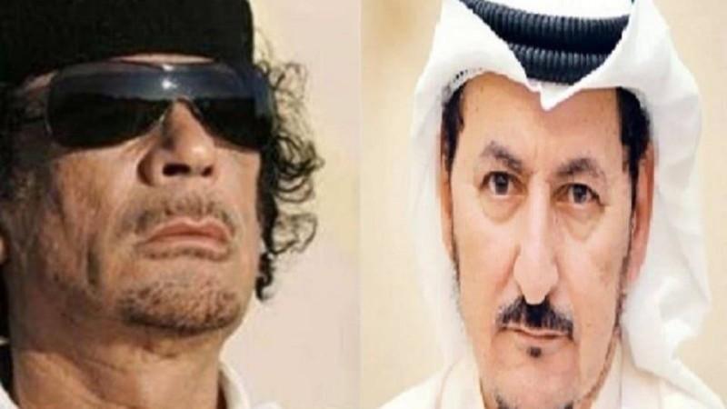الدويلة والقذافي