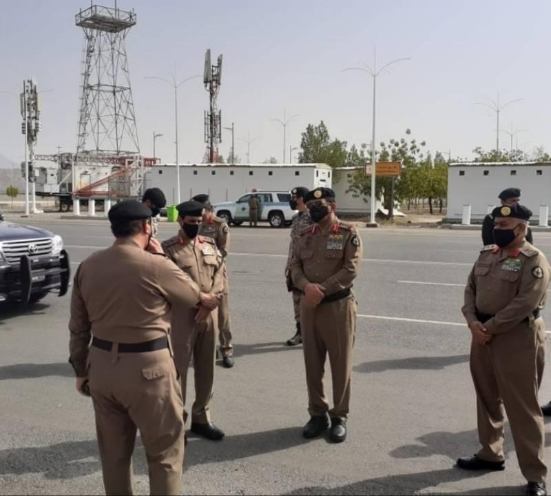 مدير الأمن العام يتفقد استعدادات الجهات الأمنية في الحج