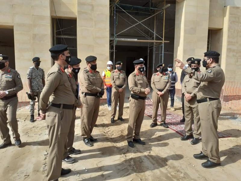مدير الأمن العام يدشن مراكز أمن الطرق في طريق الطائف والحديبية