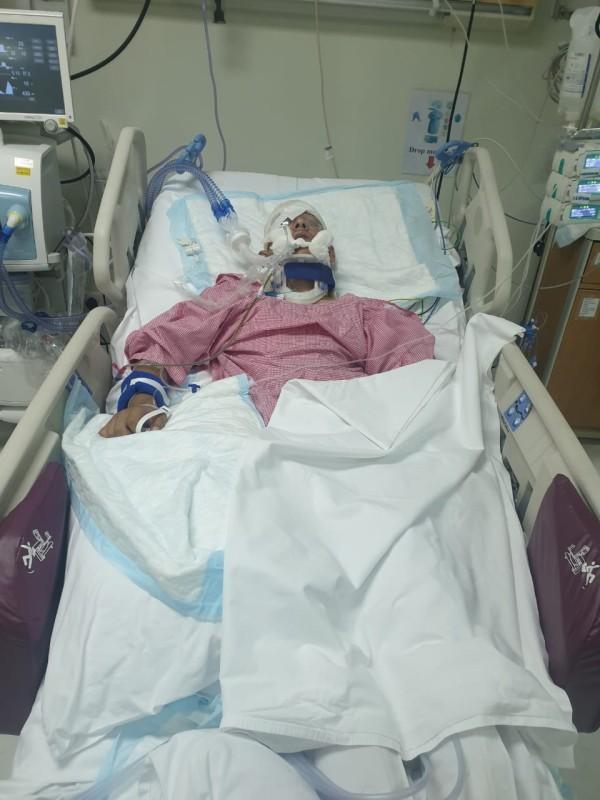 نجل العشري منوما في المستشفى