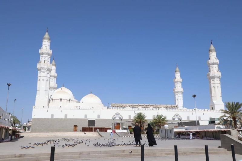 مسجد قباء (تصوير: بند الترجمي)