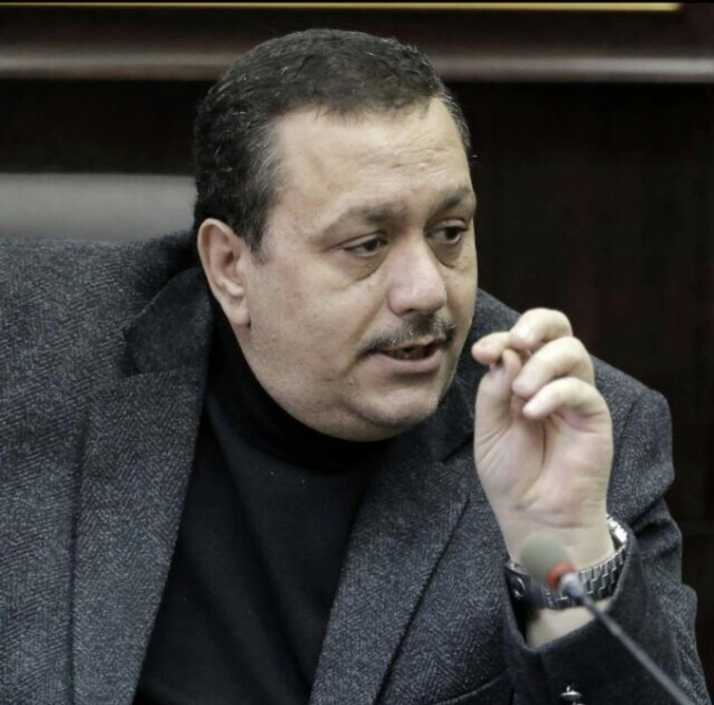 رئيس تحرير صحيفة الدستور الأردنية (سابقاً) محمد حسن التل.