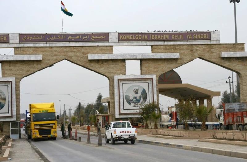 الحدود العراقية التركية.