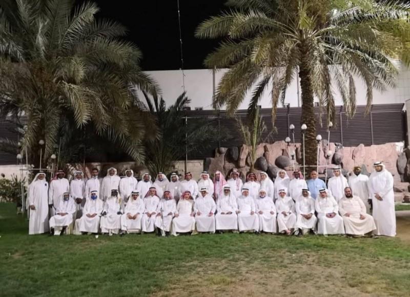 أعضاء المجلس الرياضي الأول بالمدينة المنورة
