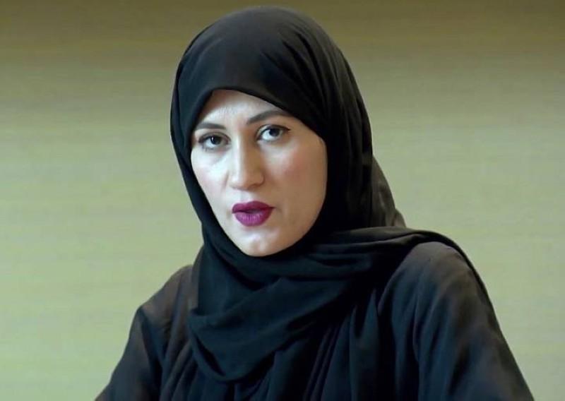 أسماء أريان زوجة الشيخ طلال آل ثاني.