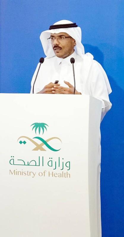 متحدث الصحة خلال المؤتمر الصحفي لمؤشر كورونا.