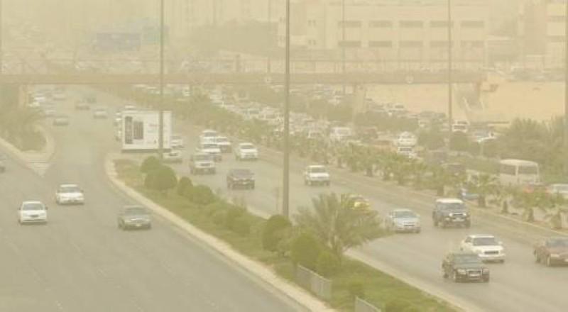 غبار على الرياض.
