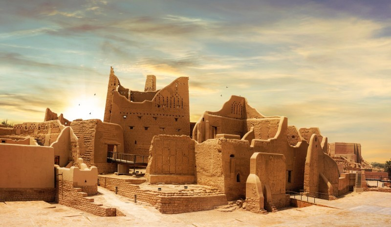 الدرعية في الرياض.