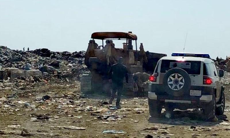تحسين مدفن نفايات أبها واستئناف أعمال مدفن وادي بن هشبل.