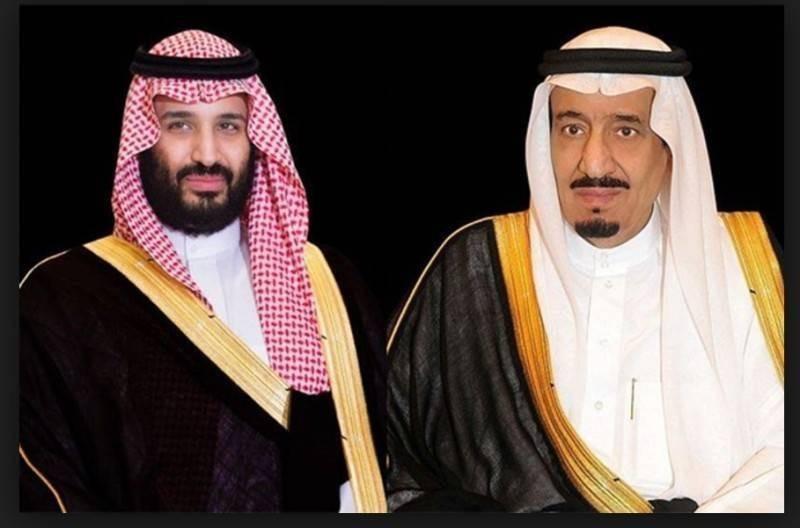 الملك سلمان بن عبدالعزيز وولي العهد