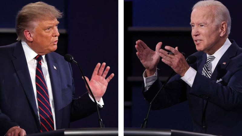 ترمب وبايدن.. المناظرة الرئاسية الأولى.
