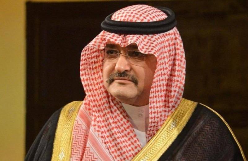 الأمير مشعل بن ماجد.
