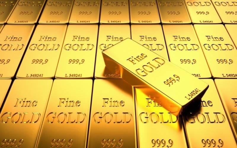 الذهب.