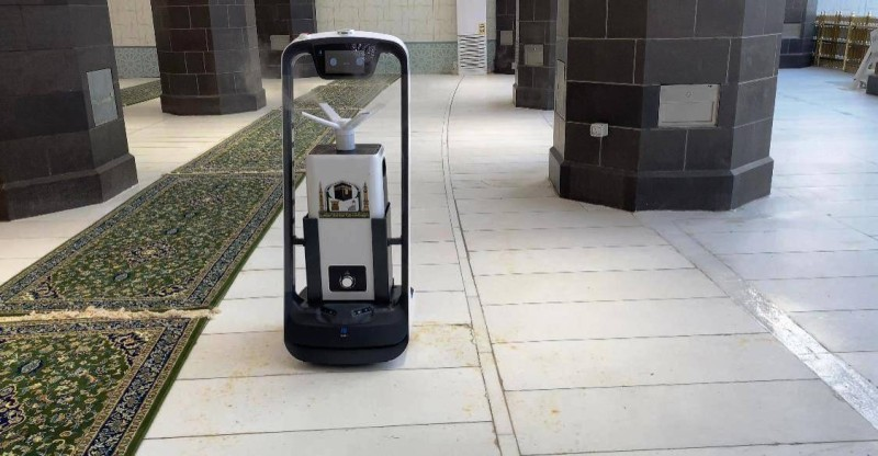 روبوت» الحرم.. 8 ساعات عمل دون تدخل بشري - أخبار السعودية   صحيفة عكاظ