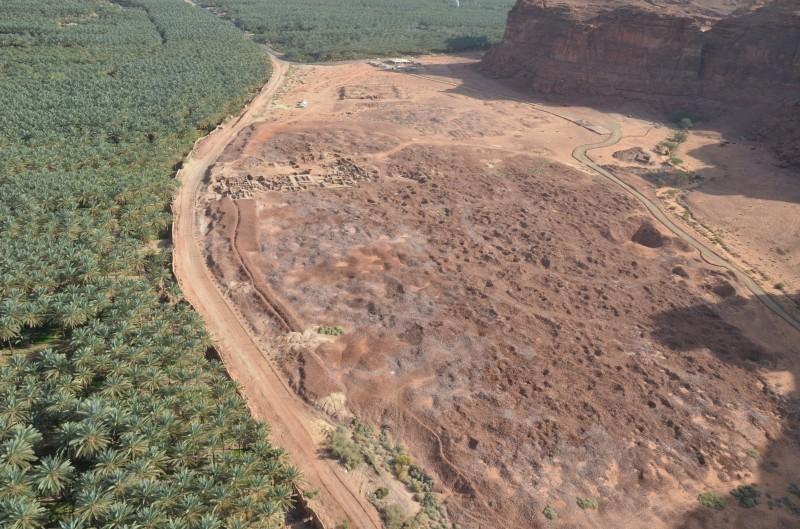 يواصل المختصون التنقيب في دادان بمحافظة العلا.