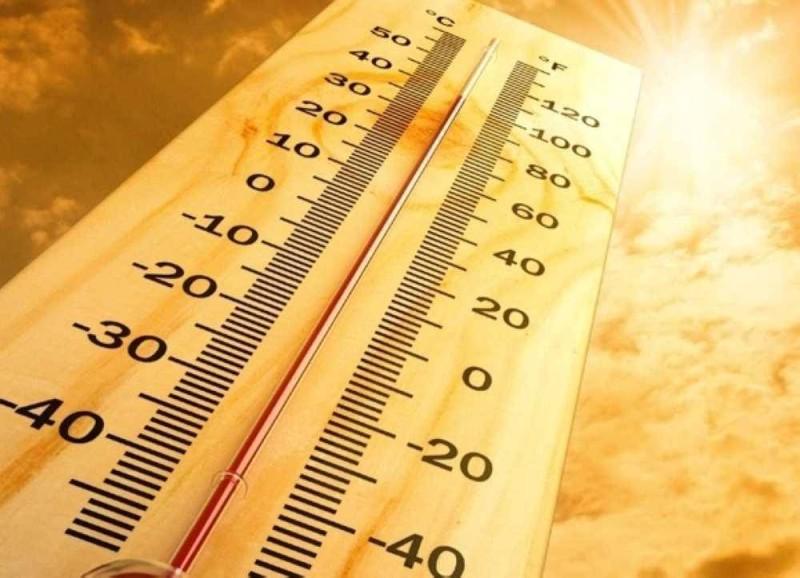 ارتفاع ملموس على درجات الحرارة.