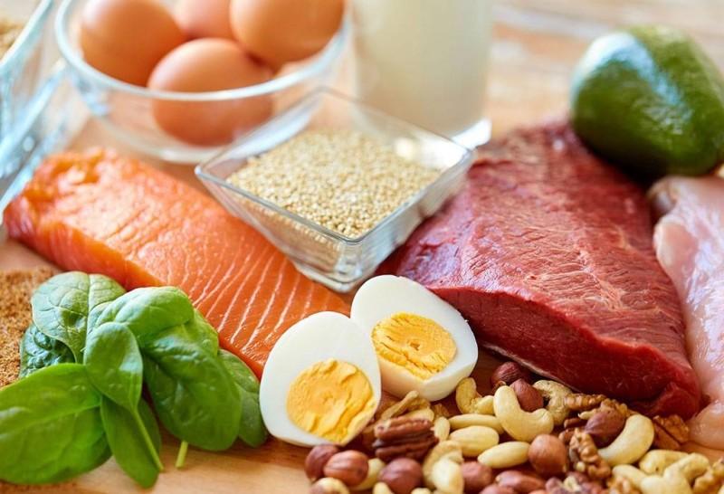 أغذية تحتوي على نسب عالية من البروتين