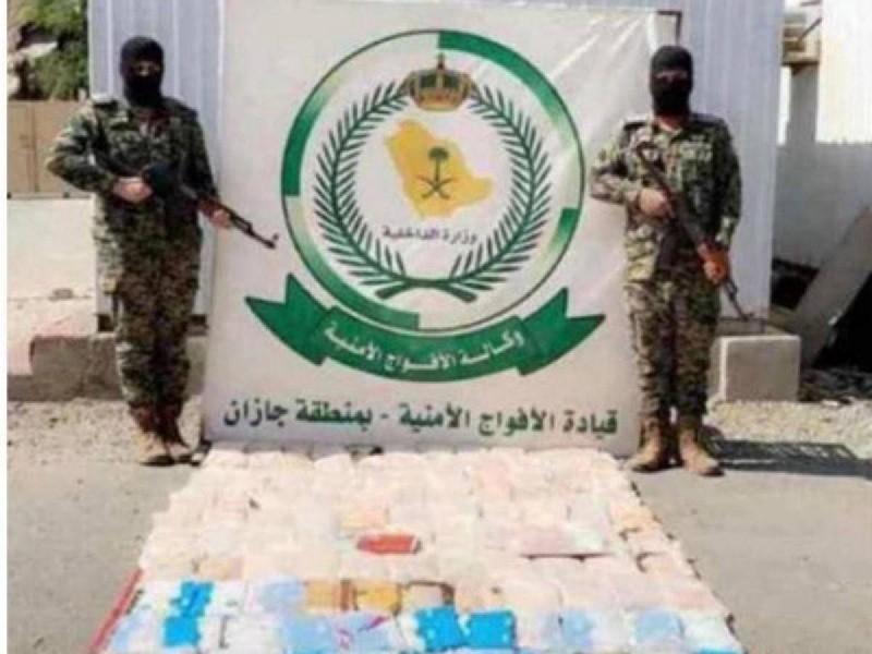 حشيش مخدر ضبطته «الأفواج الأمنية».