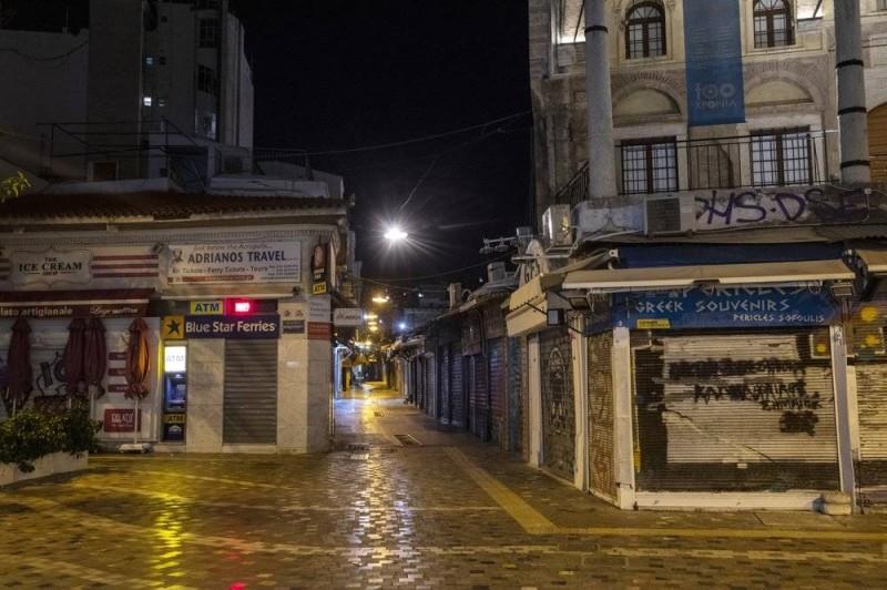وسط العاصمة اليونانية أثينا... ساحة أشباح.