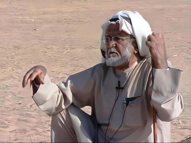 لوتاع في خلوته في الصحراء