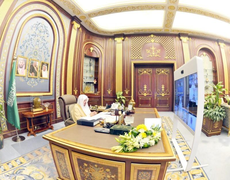 ال الشيخ خلال تروسه المجلس