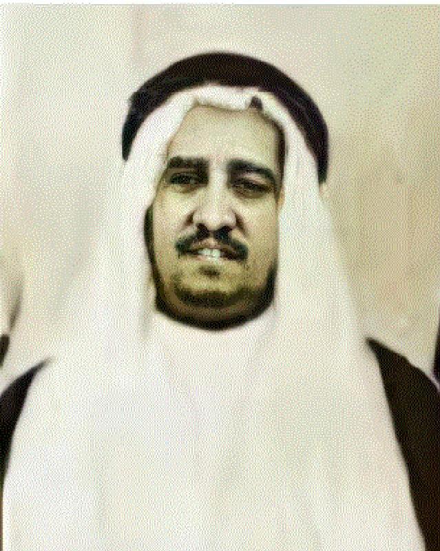 صورة نادرة للشيخ عبدالله الجفالي
