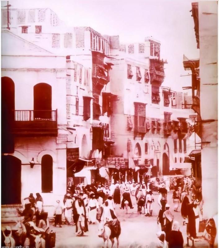 حي الجودرية بمكة الذي بدأ منه عبدالله الجفالي تجارته