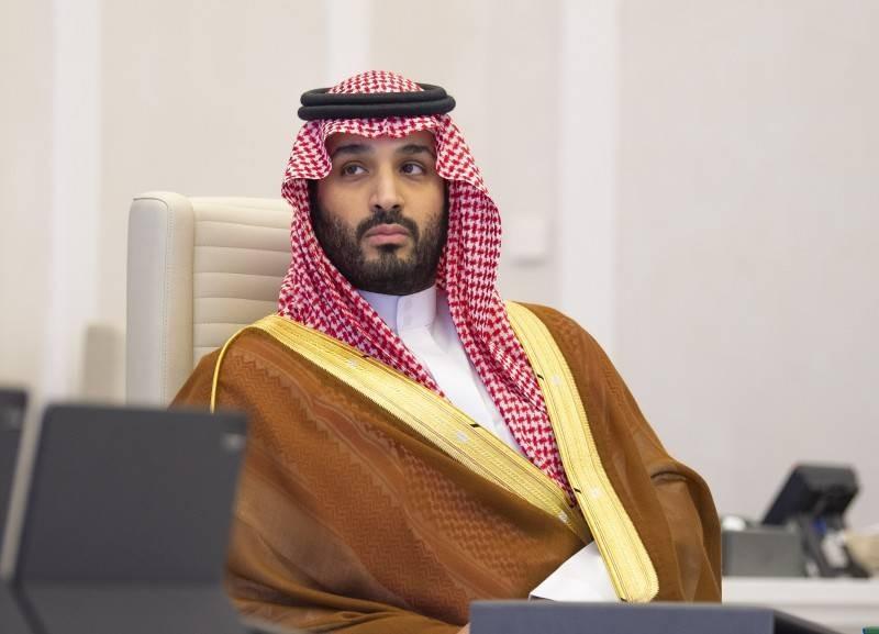 ولي العهد الأمير محمد بن سلمان خلال اجتماع القمة.