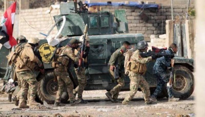 قوات عراقية أثناء التصدي لتنظيم داعش.