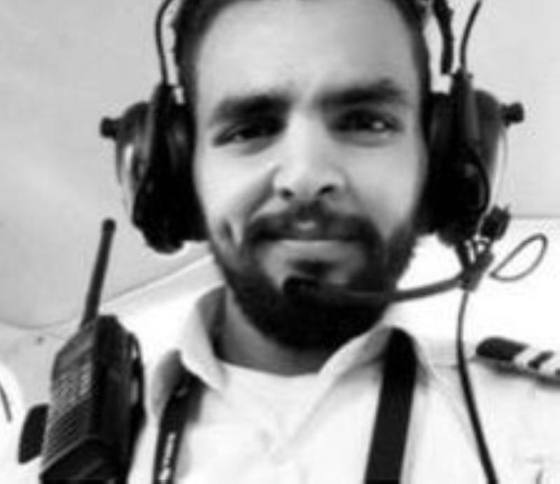 الطيار السعودي المختفي في الفلبين عبدالله الشريف.