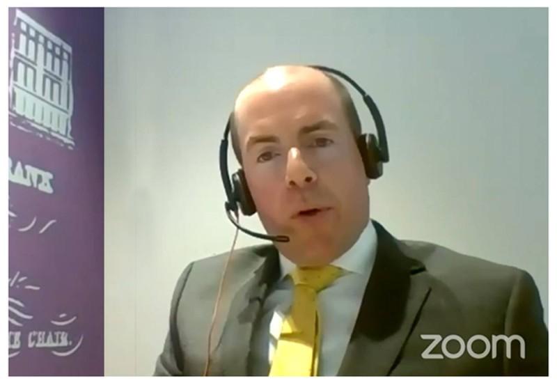 ديفيد ليزلي مدير عام التجارة العالمية في «ساب».