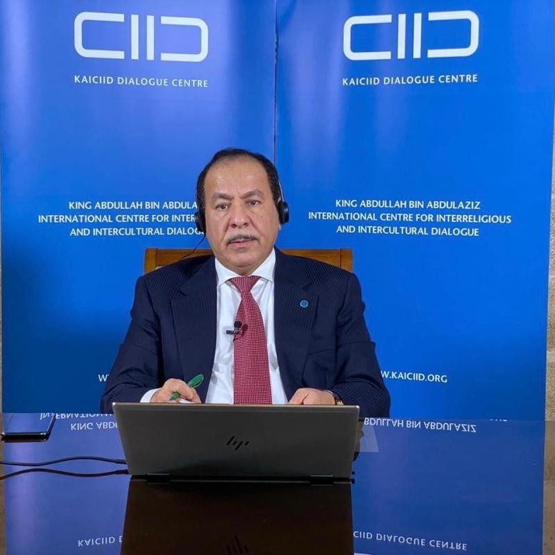 فيصل بن معمر الأمين العام لمركز الحوار العالمي.