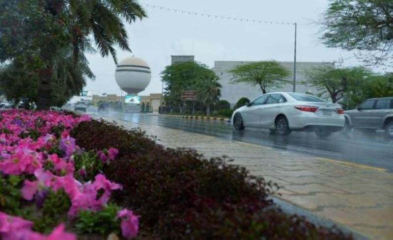 أمطار رعدية على القصيم.