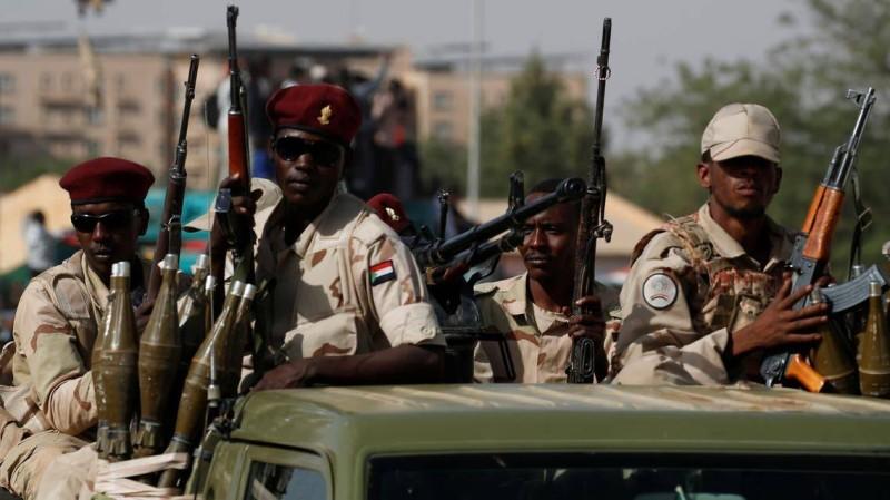 قوات سودانية.