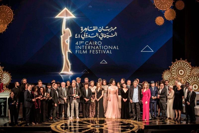 المكرمون في مهرجان القاهرة السينمائي الدولي