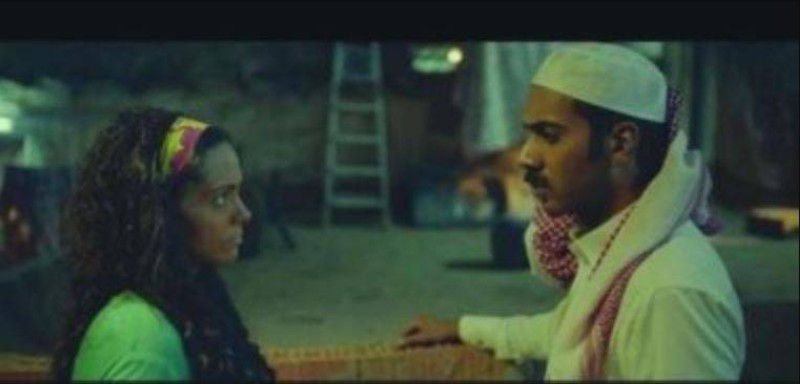 فيصل الدوخي في لقطة من فيلم حد الطار