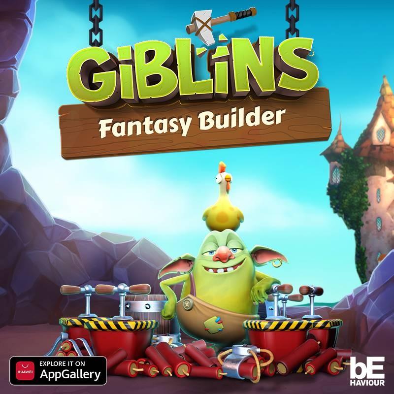 لعبة Giblins Fantasy Builder أصبحت متوفرة على متجر HUAWEI AppGallery