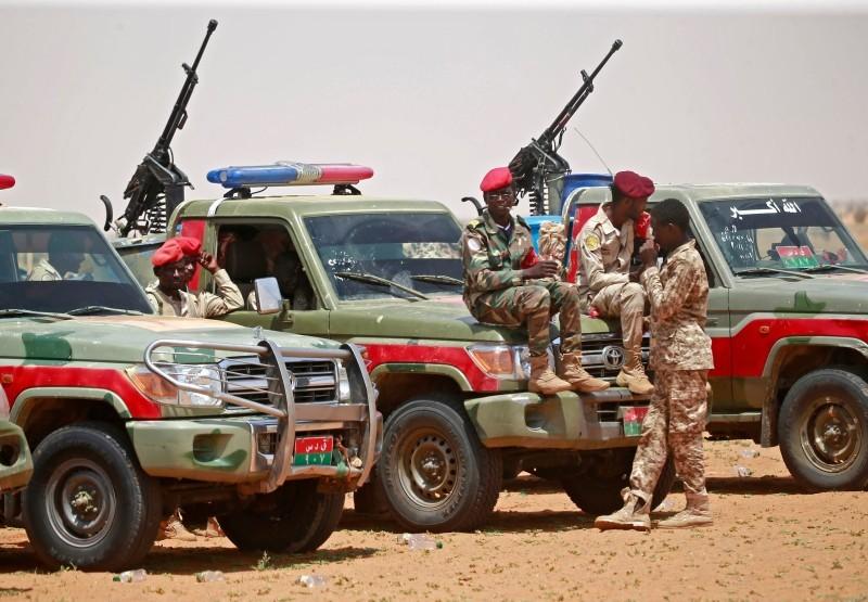 تأهب لقوات الدعم السريع السودانية على الحدود مع إثيوبيا.