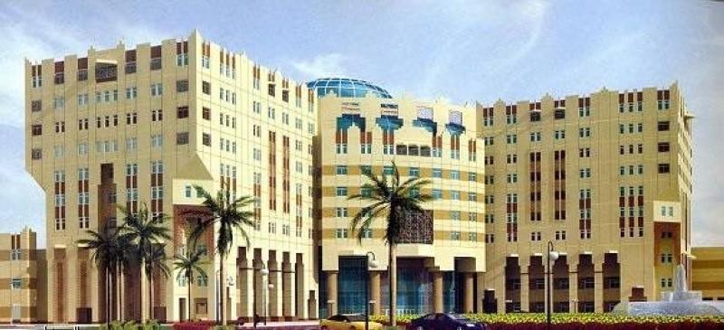 مستشفى جامعة الإمام عبدالرحمن الفيصل.