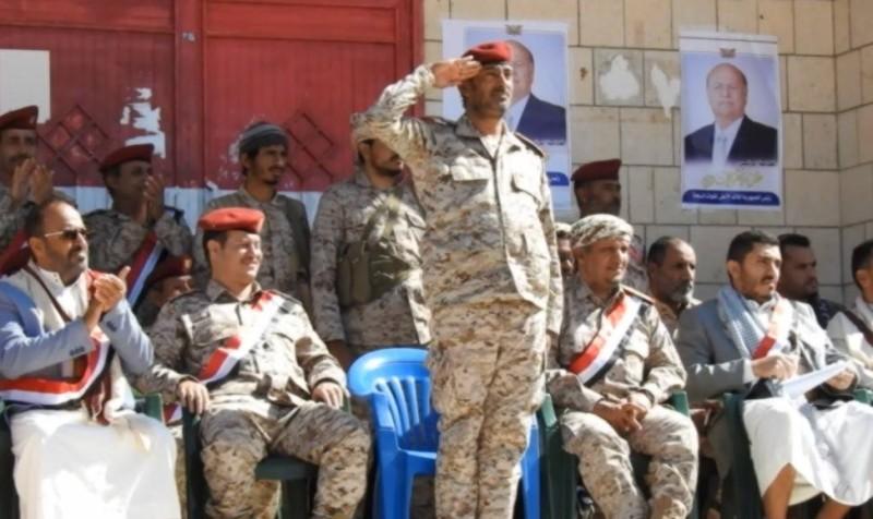 رئيس هيئة الأركان اليمني صغير عزيز.