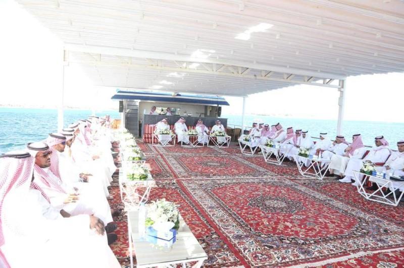 الحضور في الاحتفالية. (تصوير: مديني عسيري)