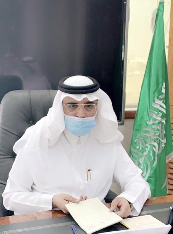 المدير العام للتعليم بمنطقة تبوك إبراهيم بن حسين العُمري.