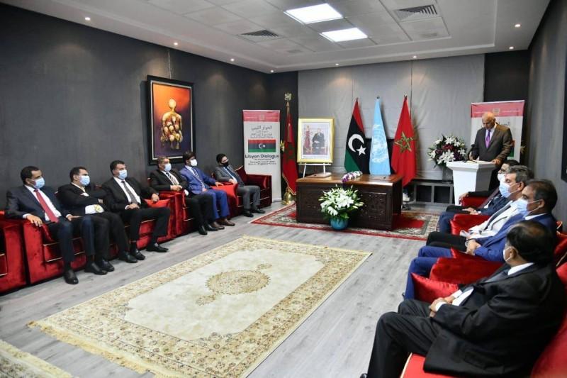 المفاوضات الليبية في بوزنيقة.